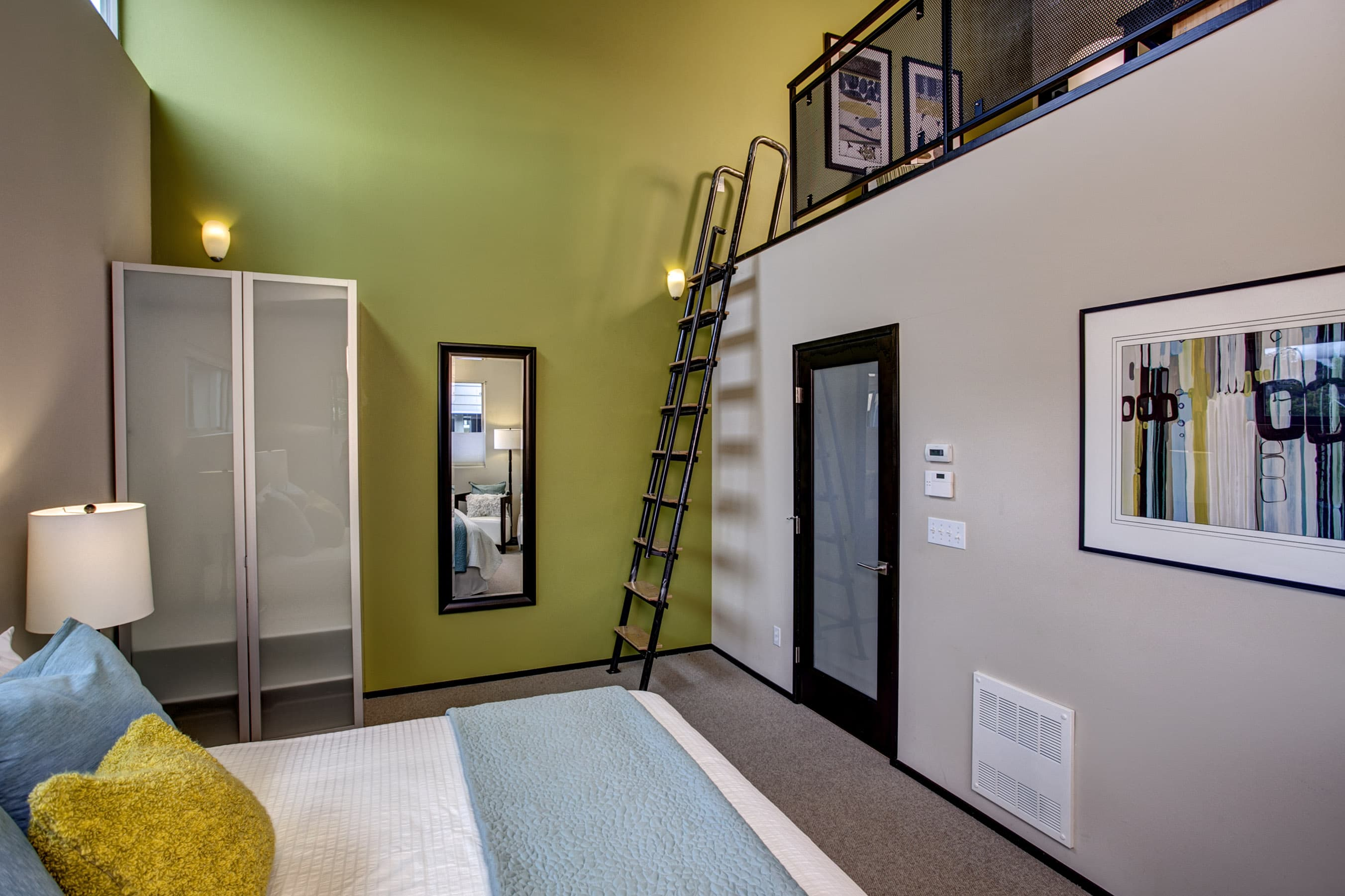 seattle loft homes are found in the most interesting places team the pike lofts were originally built as a loft condo community the divas were lucky enough to sell a stunning view loft open one bedroom