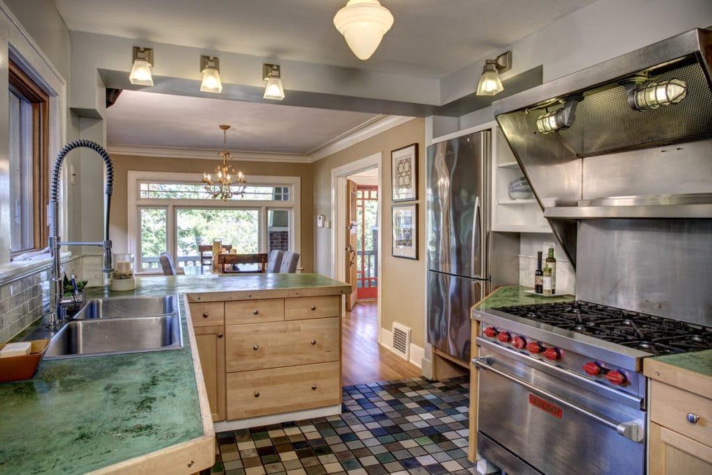 Mount Baker Craftsman Kitchen - 1