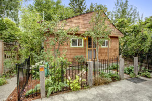 Classic Ballard cottage is brimming with charm, in perfect condition, and even has space for urban chickens.