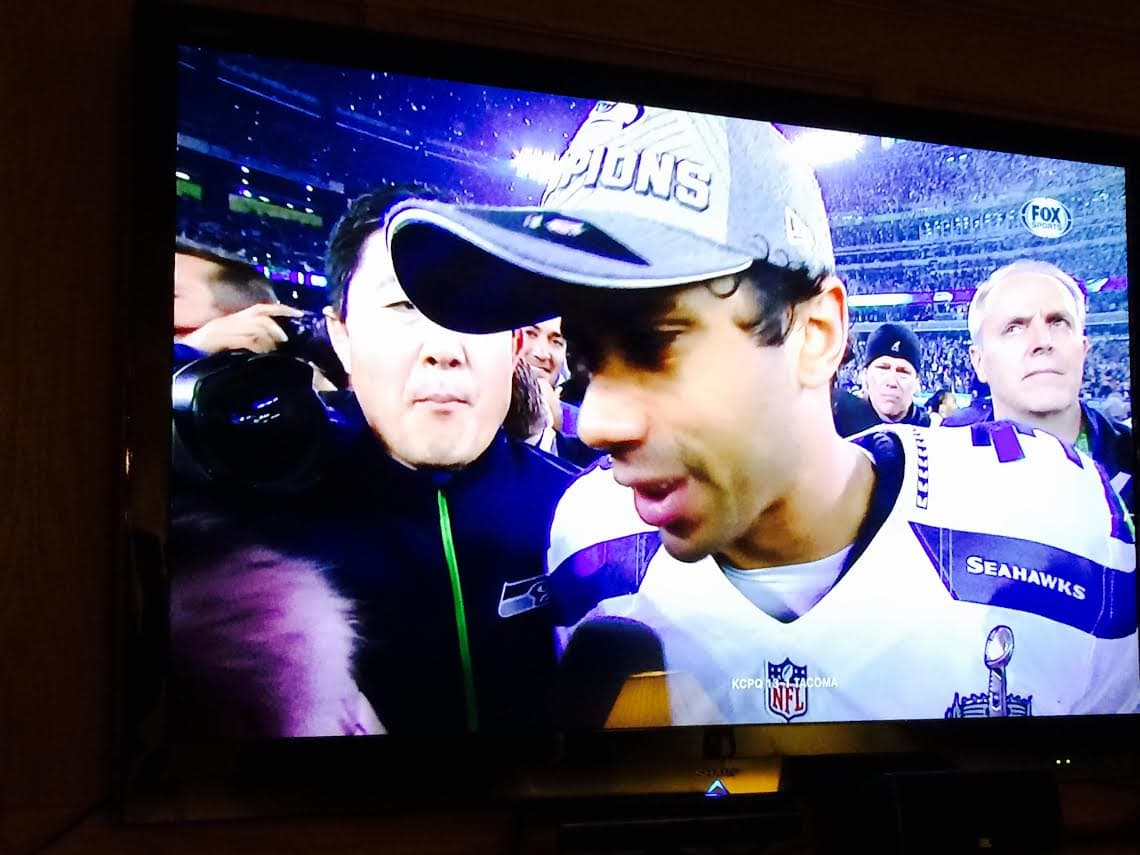 Our Danger Russ After His Win at Last Year's Superbowl