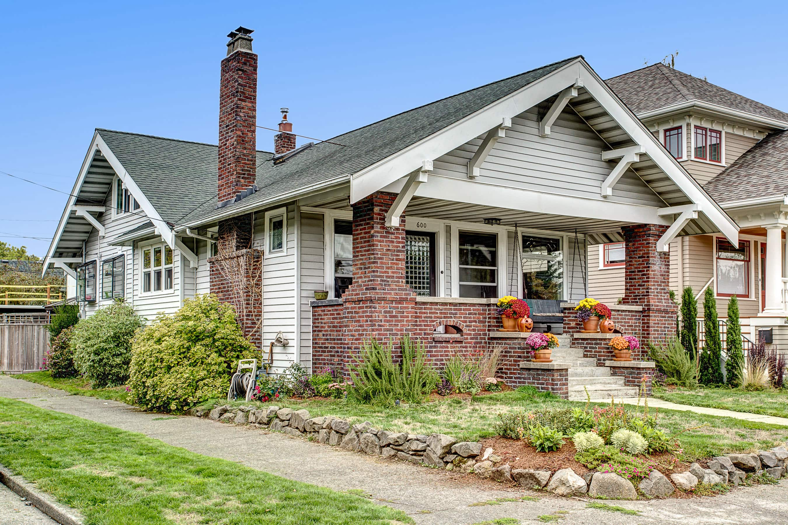 Stunning corner lot Craftsman steps from everything.