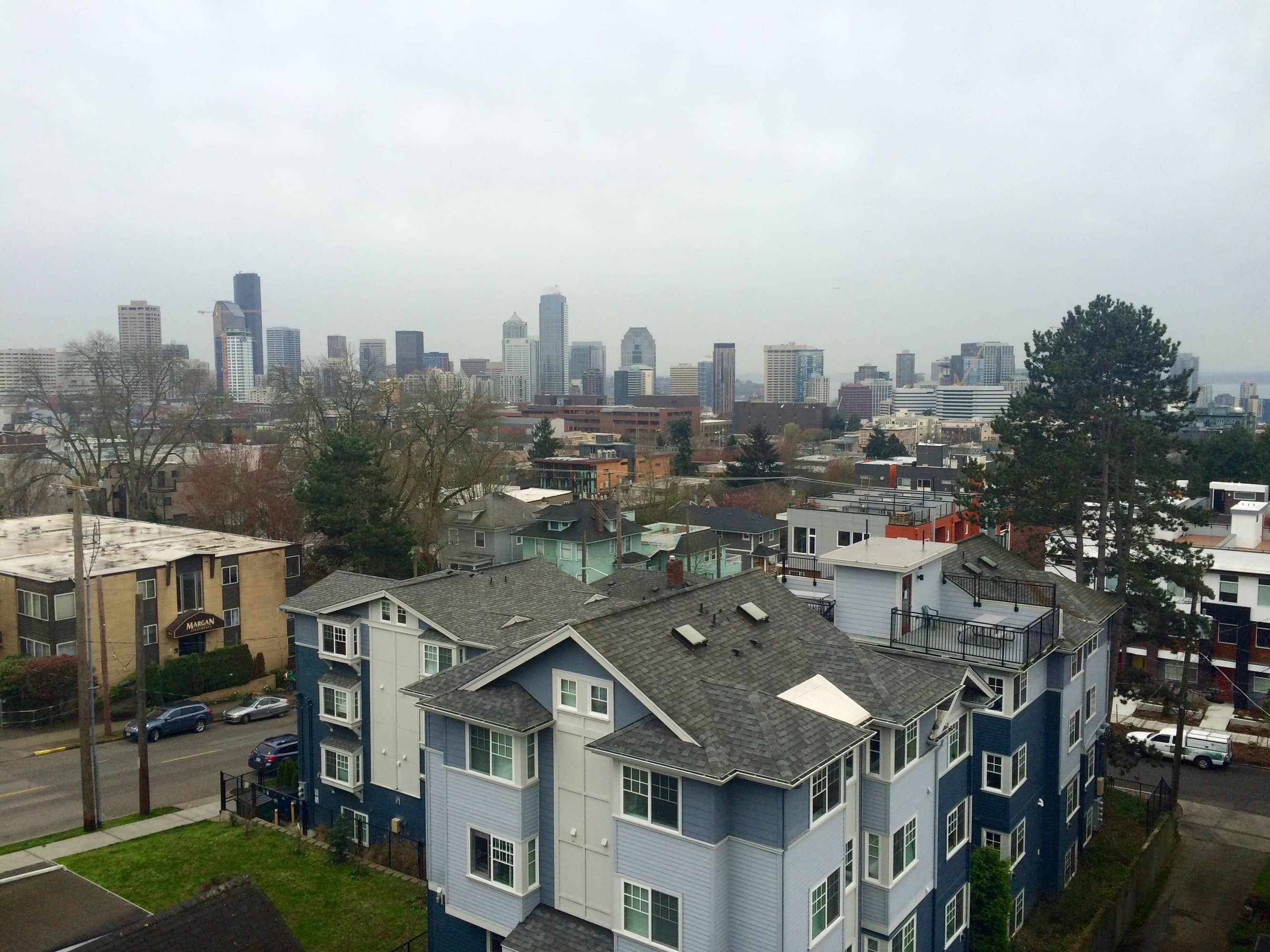 Even when it's overcast Seattle Stuns!