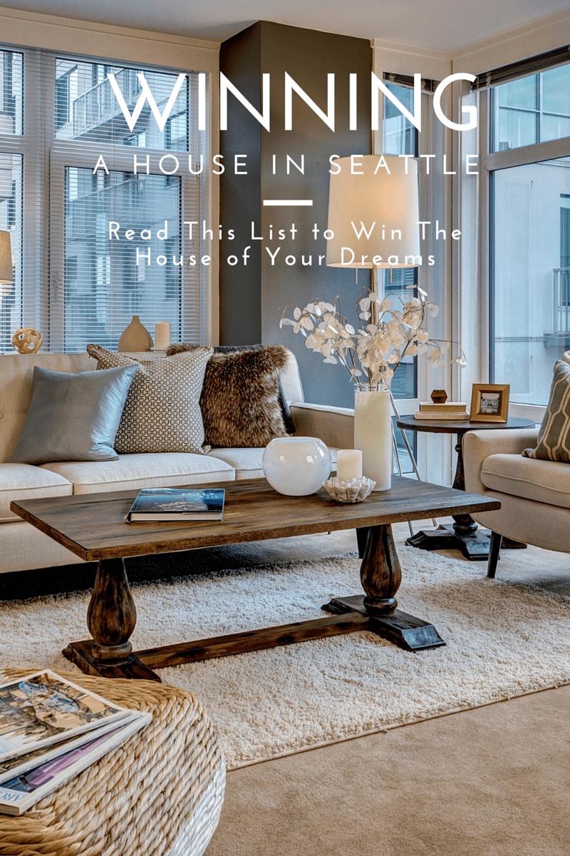 Winning a House in Seattle