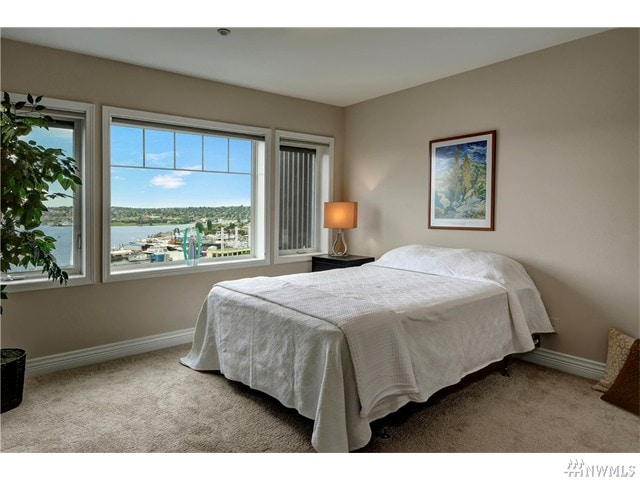 Light filled Master Bedroom. Wake up to that view!