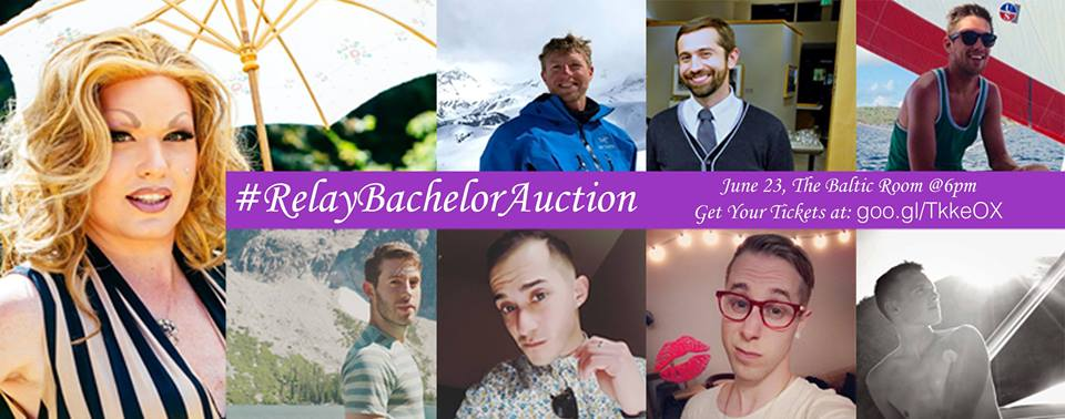 relay bachelor auction