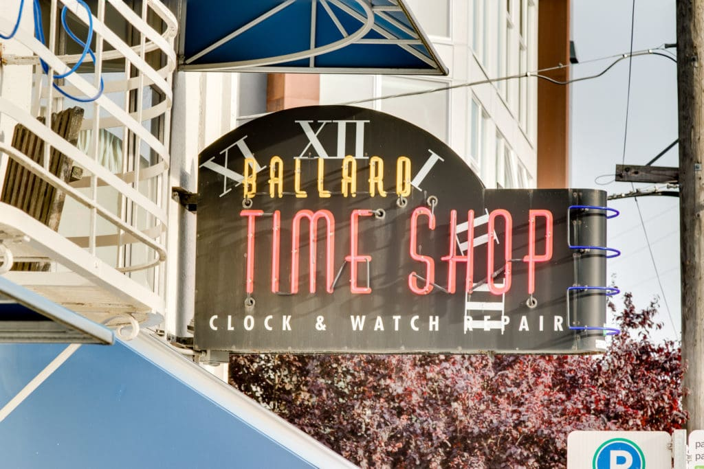 Historic Ballard Watch Shop