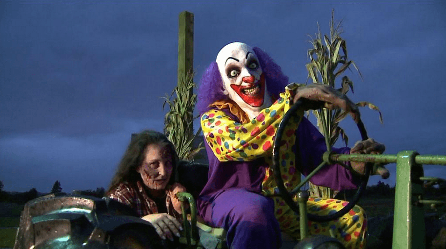 Great. Now the evil clowns are crashing our Halloween parties. Image via Carleton Farms.