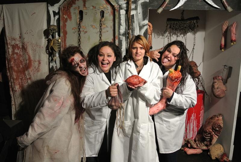 A fun photo op finale at Georgetown Morgue. Image via Georgetown Morgue.