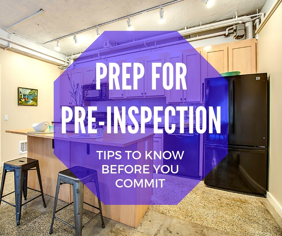 Prepare Yourself For A Pre Inspection