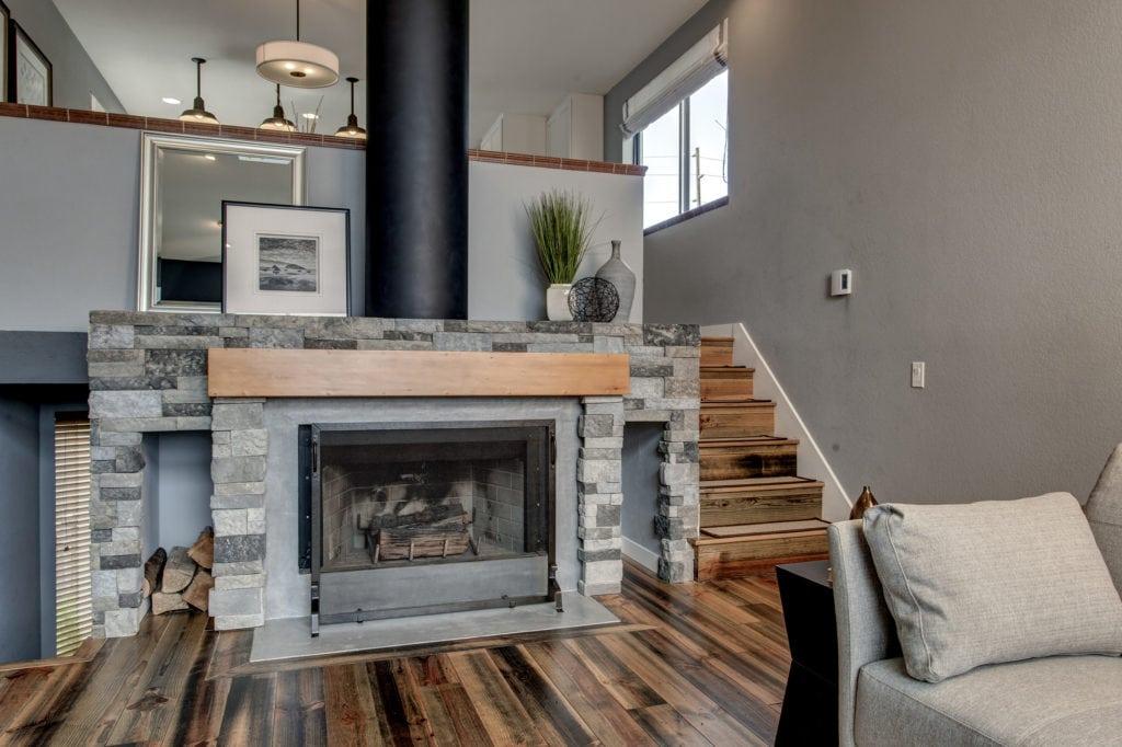 Ballard Modern Living Room Renovation
