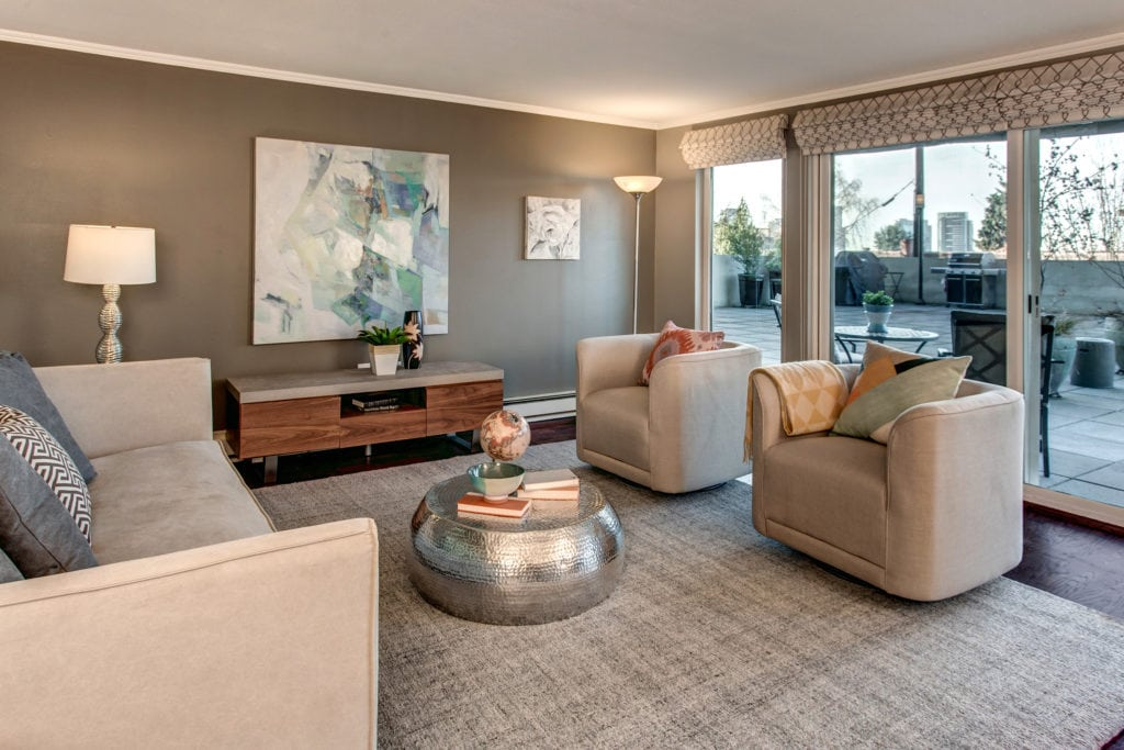 Staging Was Critical to Showcasing This Home Adjacent to That Spectacular View Deck