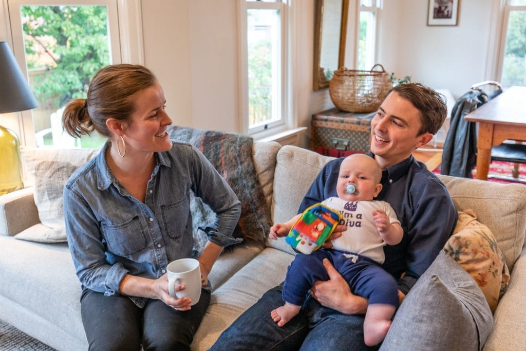 Seatte Home Buyer Stories: Caitlin and Andrew and their little diva Charlie