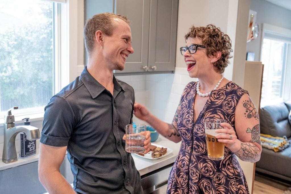Seattle Home Buyer Stories: Shannon and Leo at home