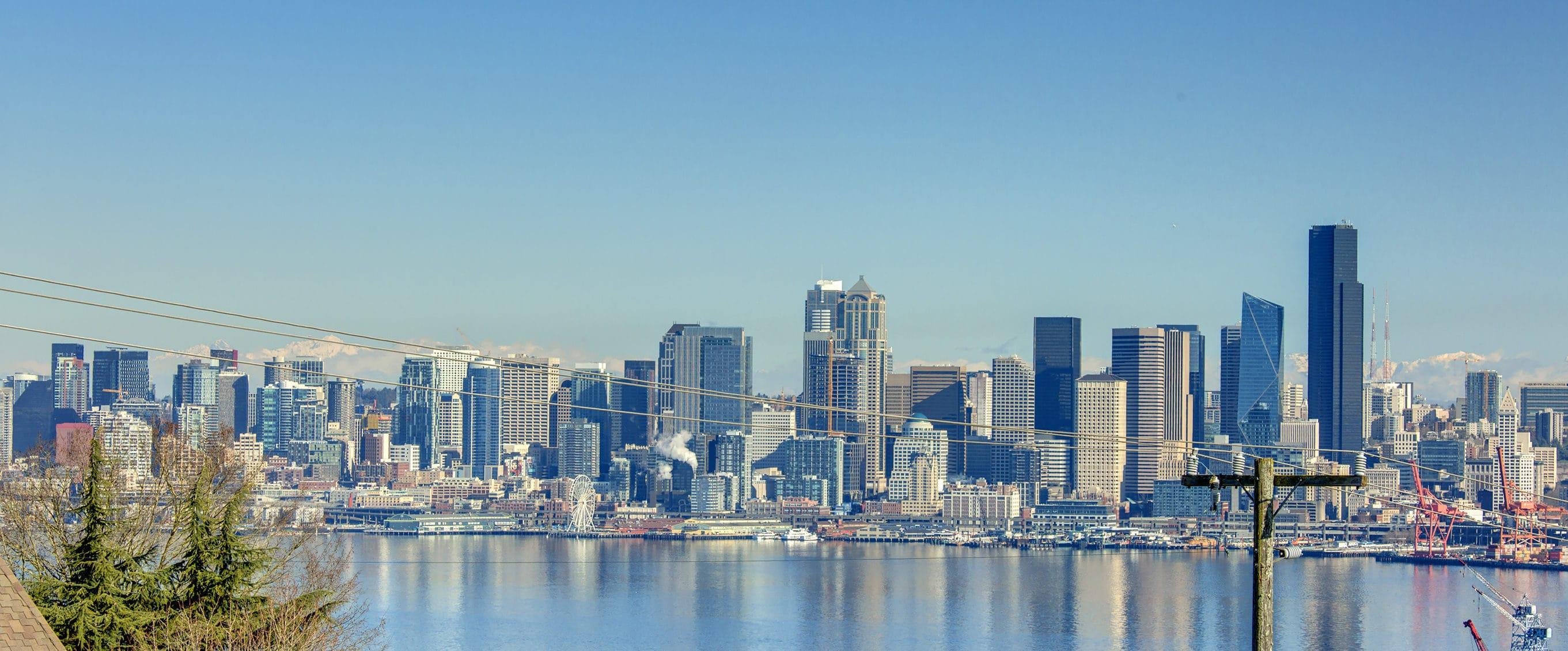 West Seattle Luxury Seattle City View