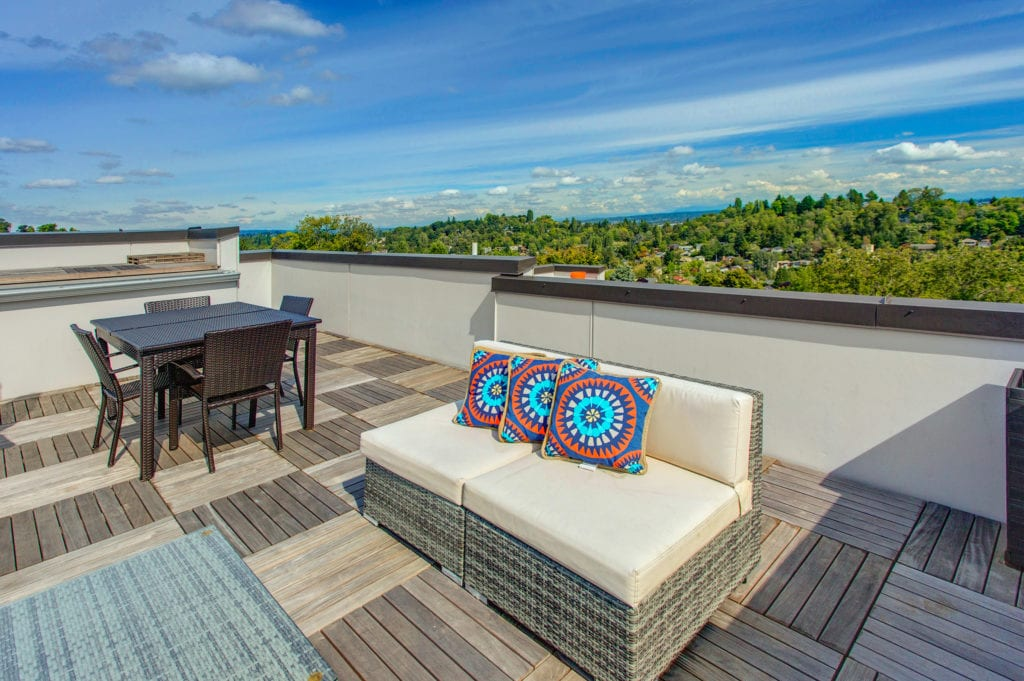 Madison Valley Townhouse Rooftop Decks