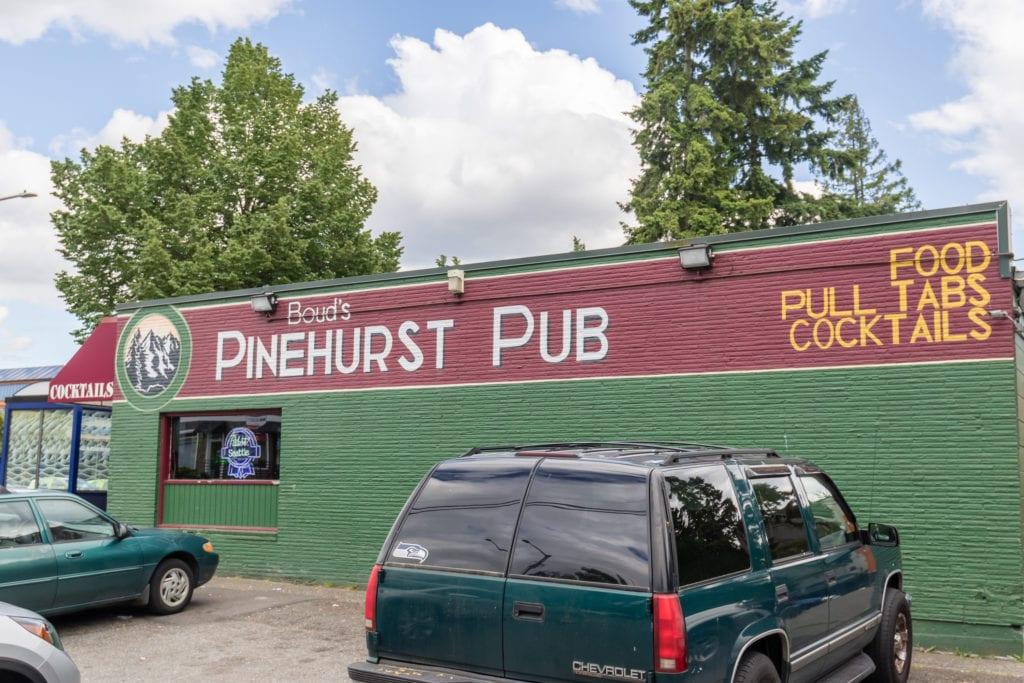Boud's Pinehurst Pub in the Heart of Pinehurst