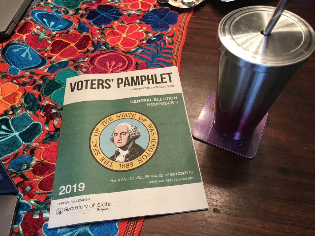 2019 Seattle Voters Guide