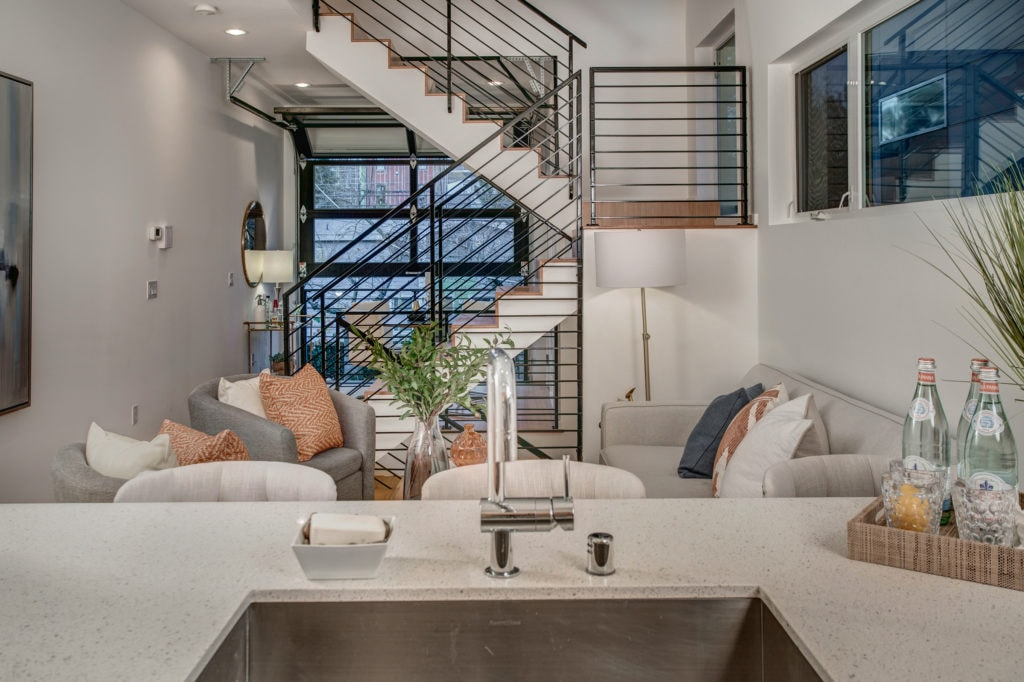 Let's Revel in The Architectural Elements of This Modern Capitol Hill Townhome