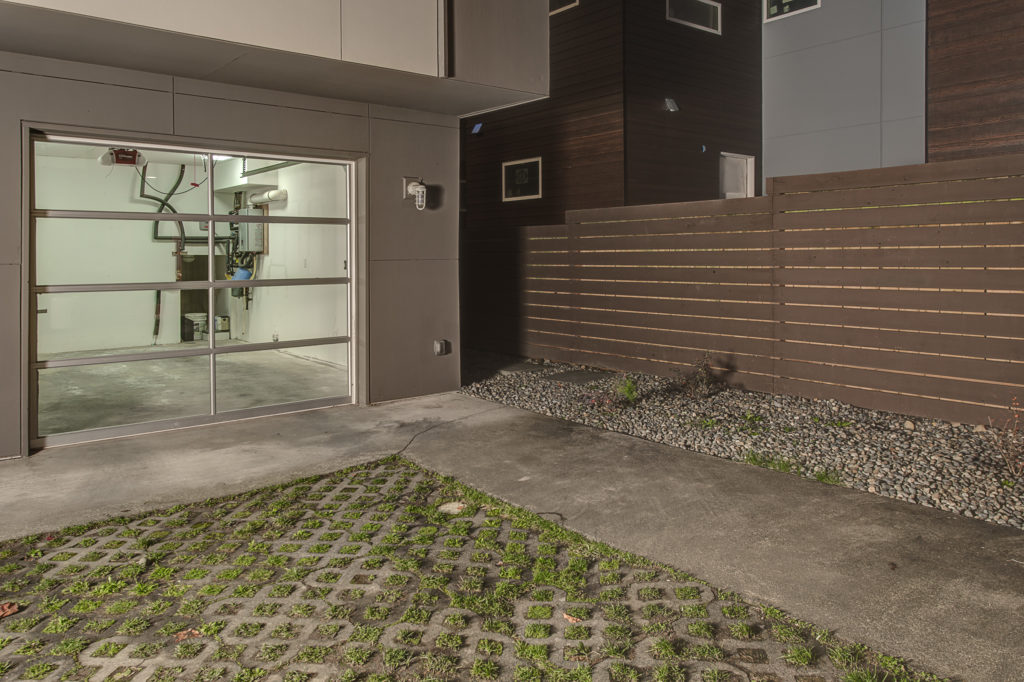 No Really a Garage - With a Sustainable Parking Strip