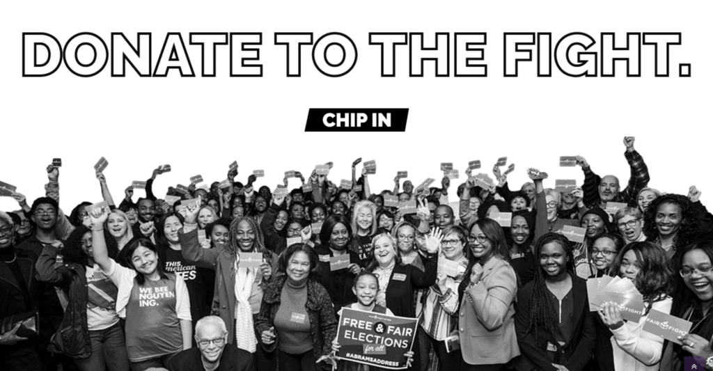 Fair Fight 2020 - Donate Now