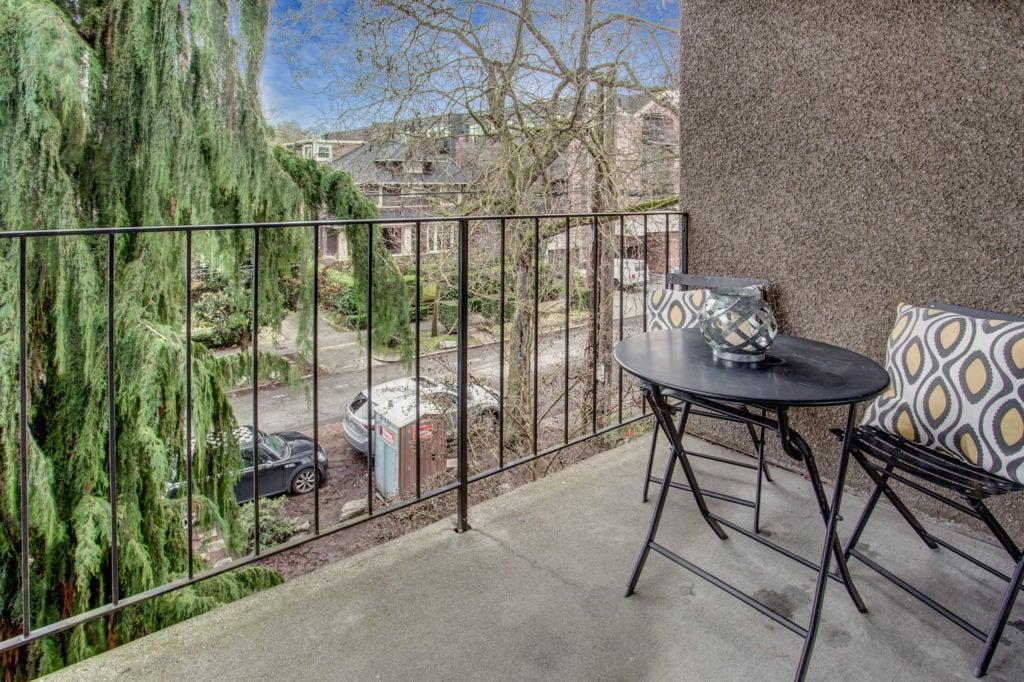 Capitol Hill Seattle Condo Private Balcony