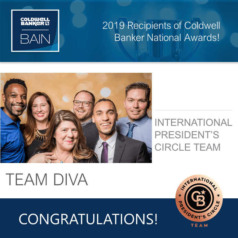 Team Diva Awarded International President's Circle for Teams