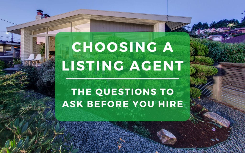 Choosing A Listing Agent Seattle