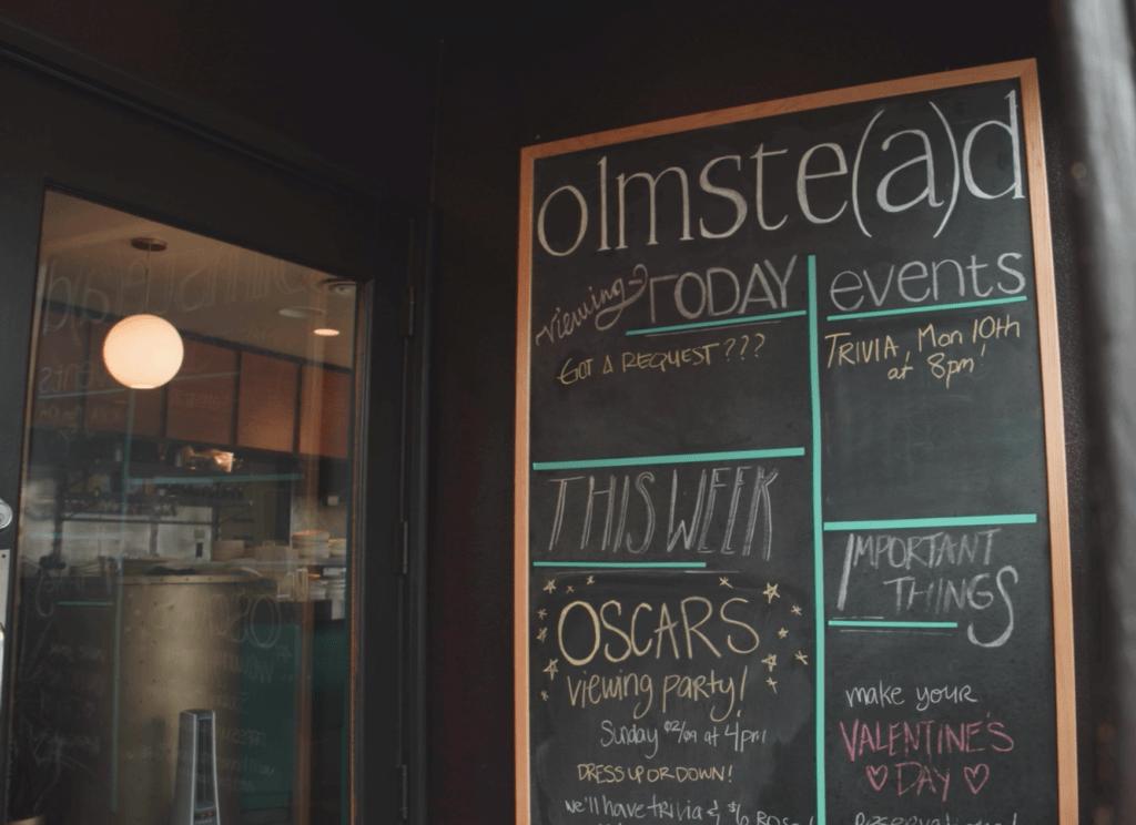 Olmstead Seattle Entrance
