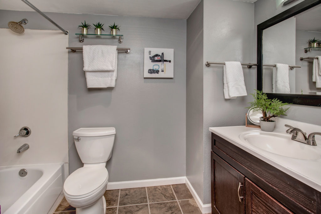 First-Time Home Buyer Capitol Hill Condo Bathroom