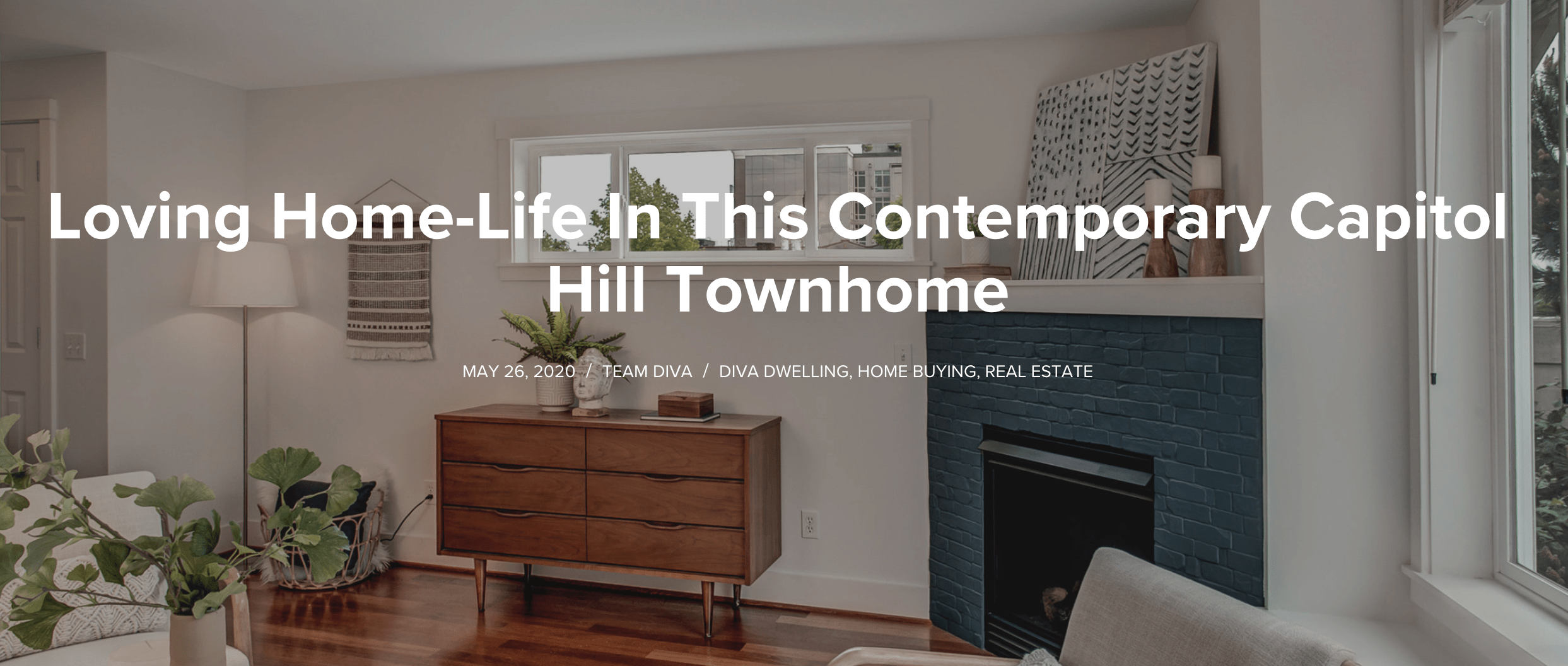 Capitol Hill Townhouse Blog