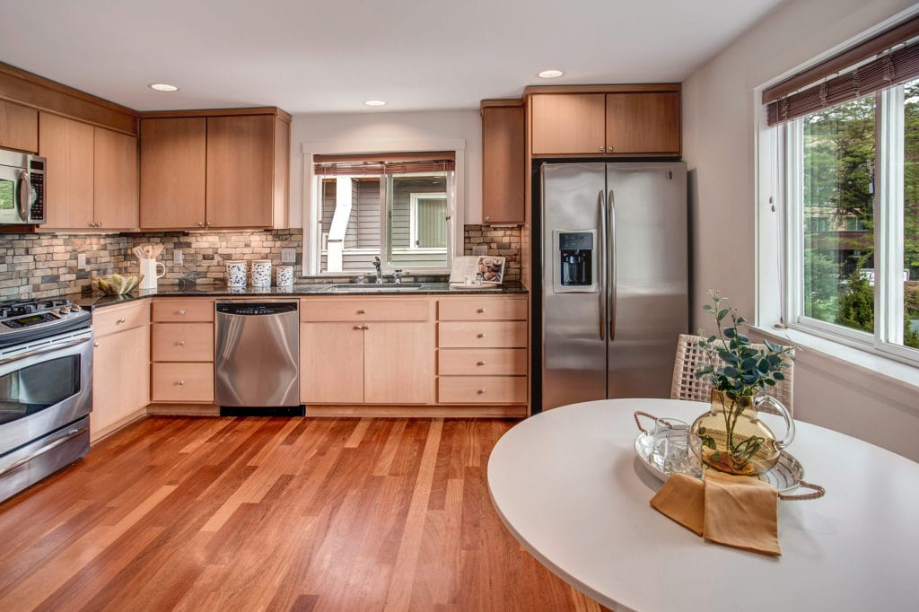 Capitol Hill Townhome Kitchen