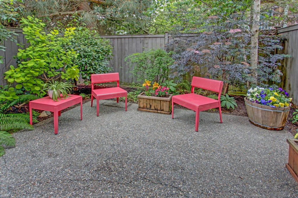 Capitol Hill Townhome Patio