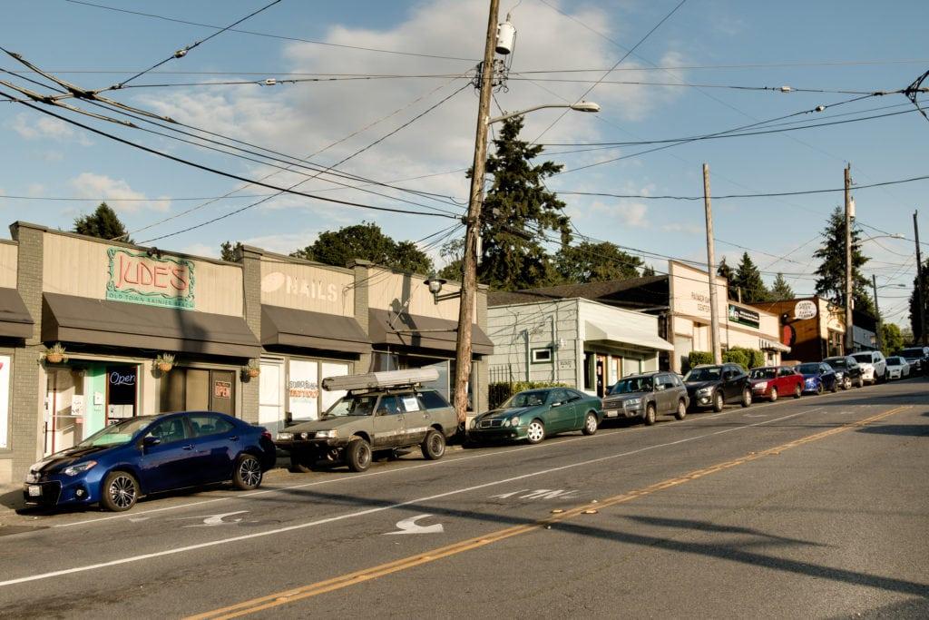 Rainier Beach's Core of Local Shops and Restaurants