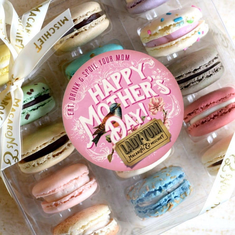 Lady Yum Mother's Day Macaron Sets Pioneer Square Seattle
