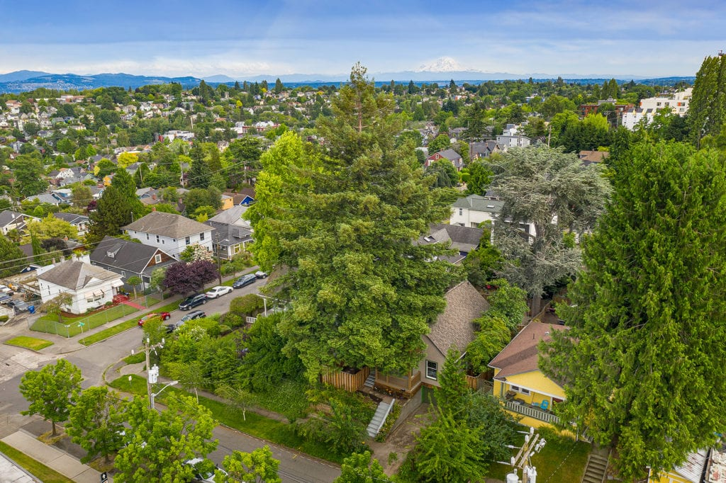 Madison Valley Home Drone Exterior and Madison Valley and Cascade Mountains View