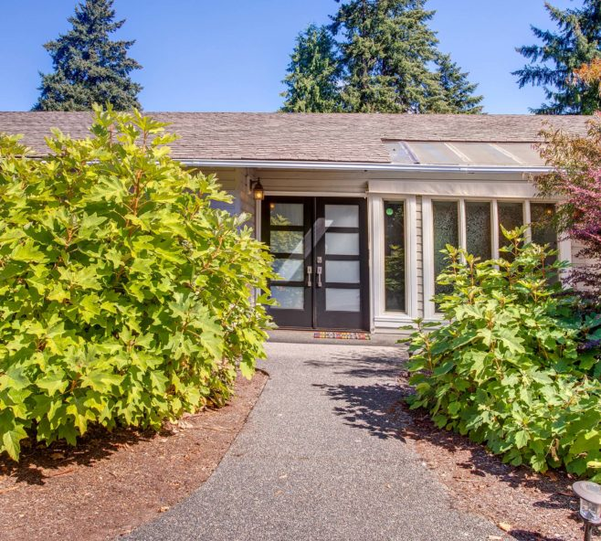 West Lake Sammamish Home Exterior and Entry