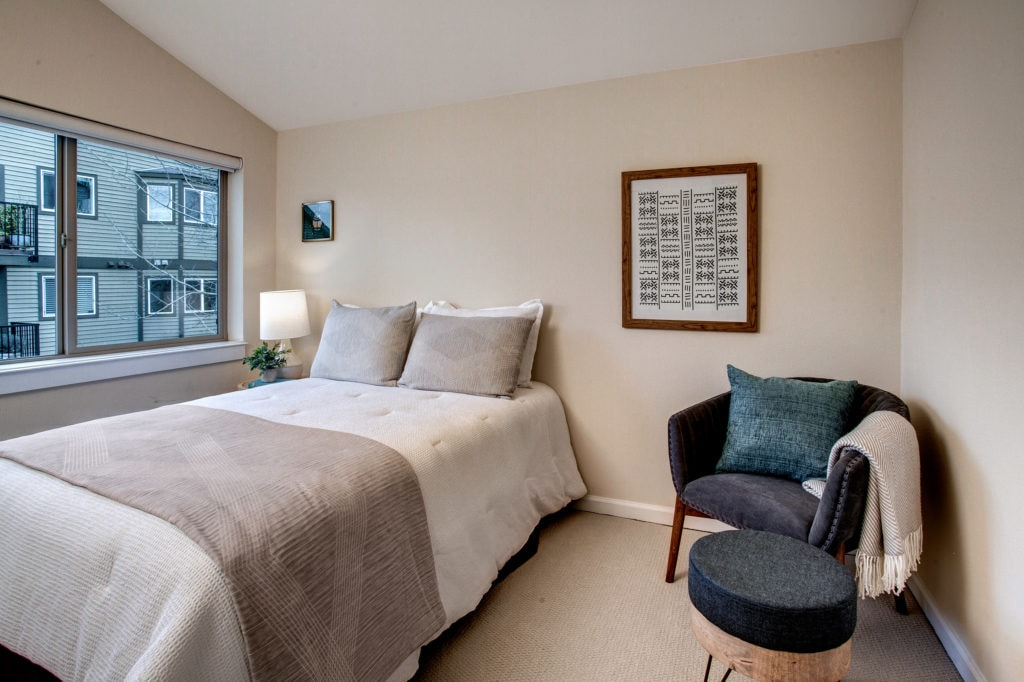 Green Lake Townhome Bedroom