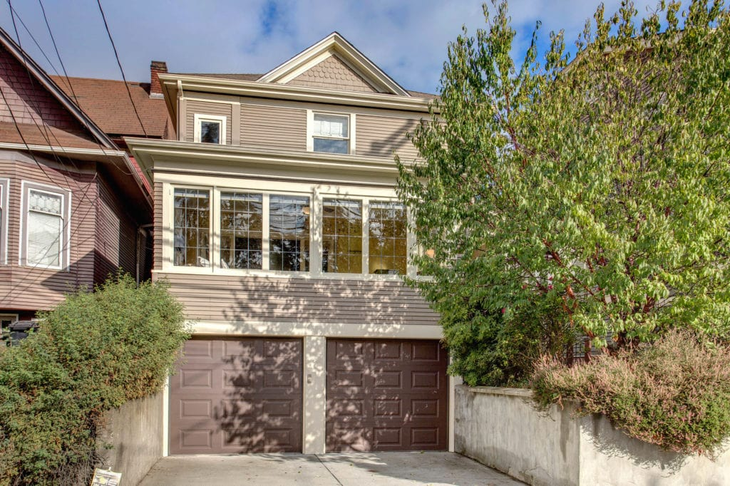 Classic Capitol Hill Home, Exterior, Sunroom, Two Car Garage, Front Garden