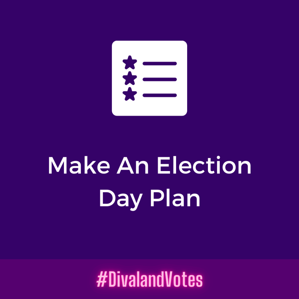 Election 2020 Make An Election Day Plan