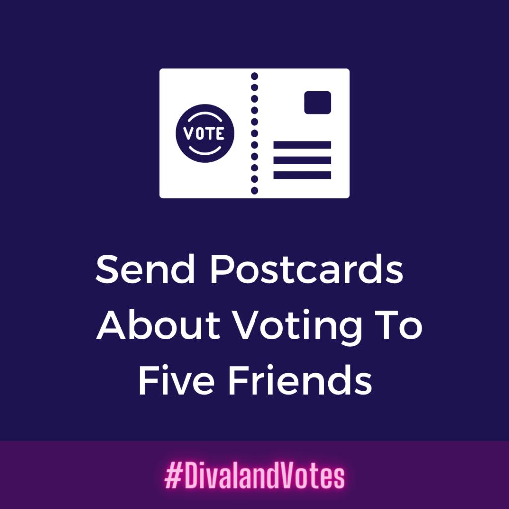 Election 2020 Send Voter Postcards