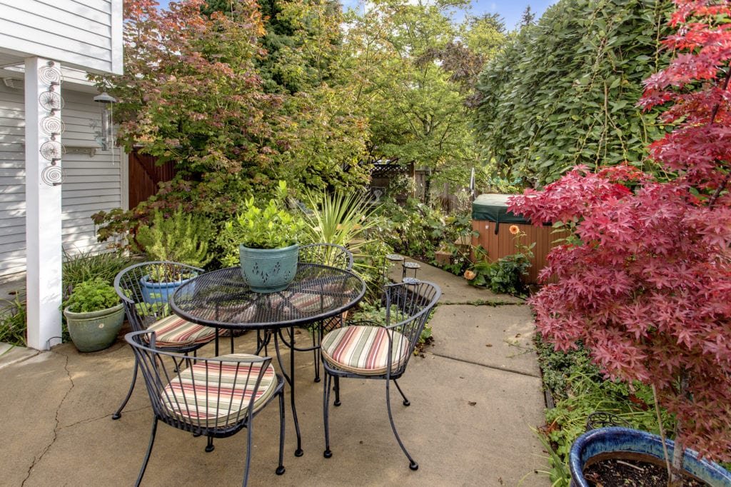 Judkins Park Townhome, Exterior, Private Patio, Private Yard, Hot Tub
