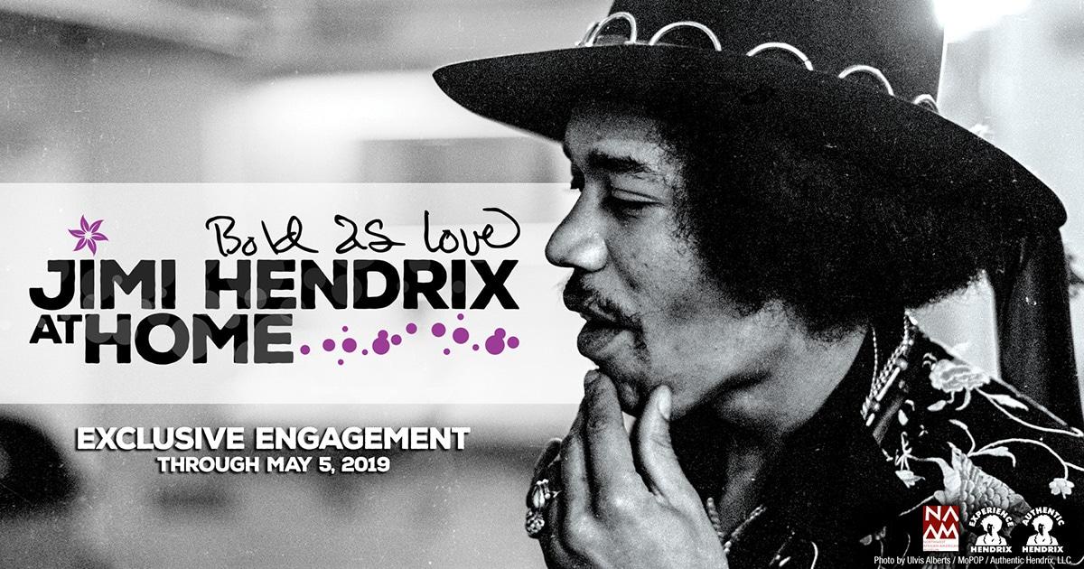 Jimi Hendrix Bold As Love At NAAM
