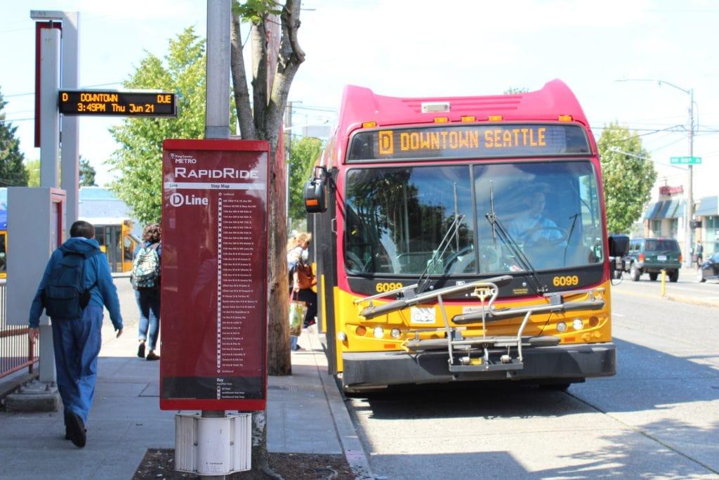 Metro Transit RapidRide D Line