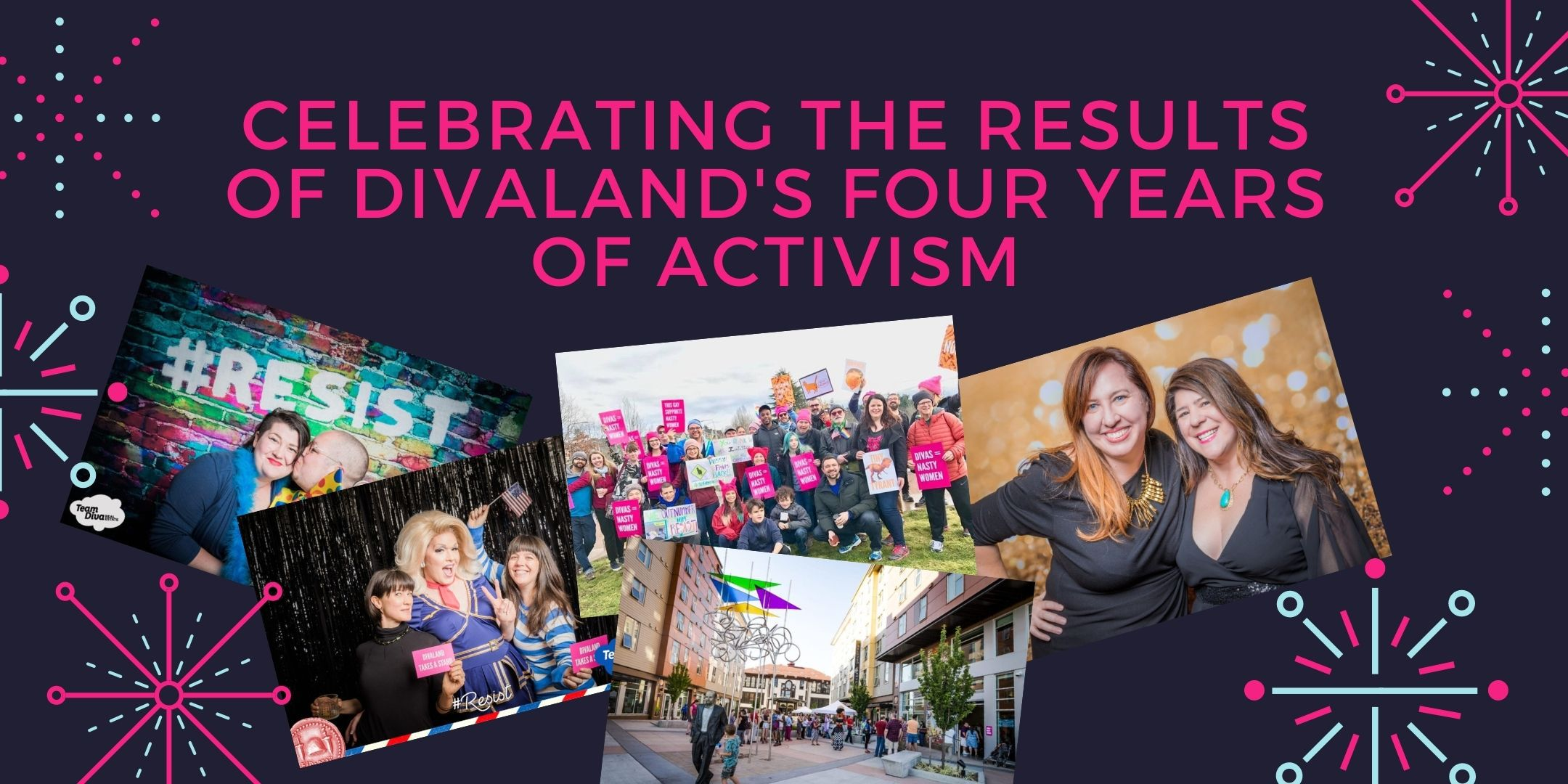 Celebrating four years of political activism in Divaland