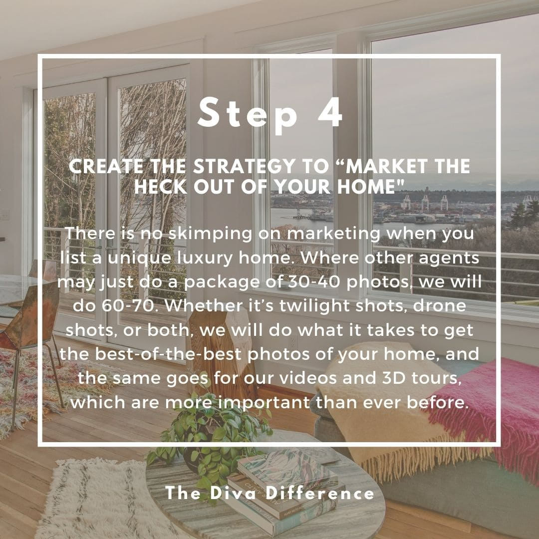 How To Sell A Unique Luxury Home: Step 4 - Market The Heck Out Of It