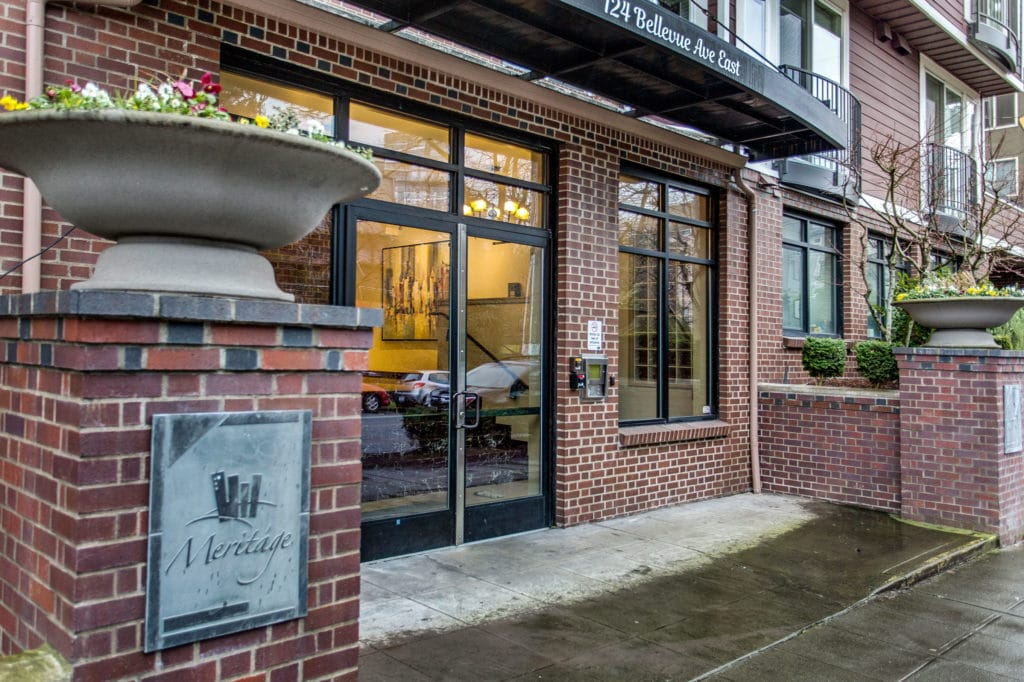 Meritage Capitol Hill Condo Exterior and Front Entrance