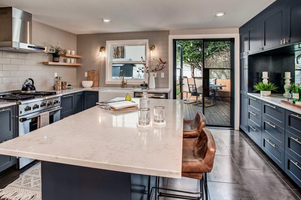 Updated West Seattle Bungalow Kitchen