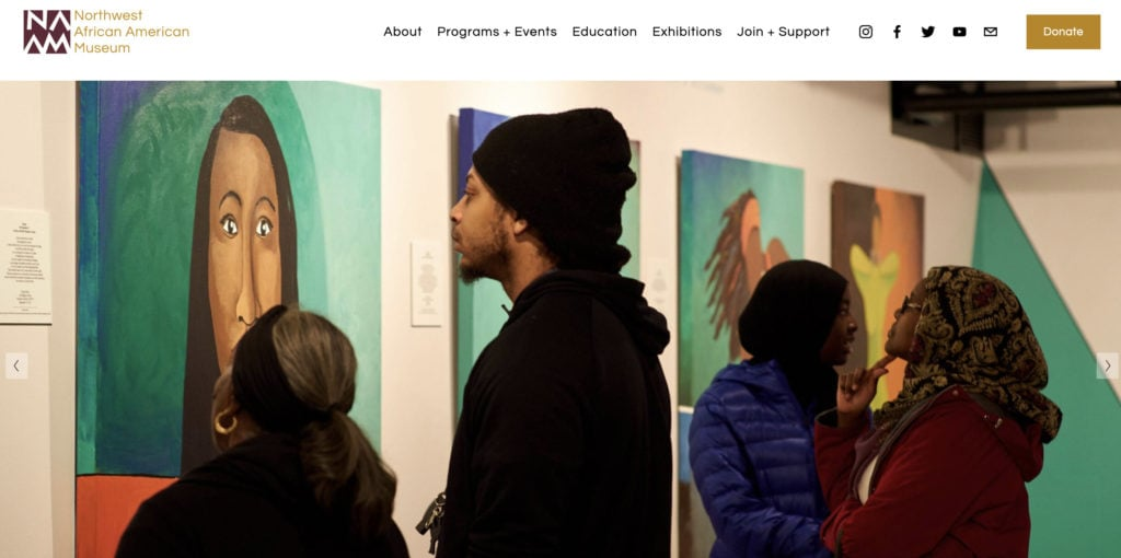 Support Black Artists in Seattle: Northwest African American Museum