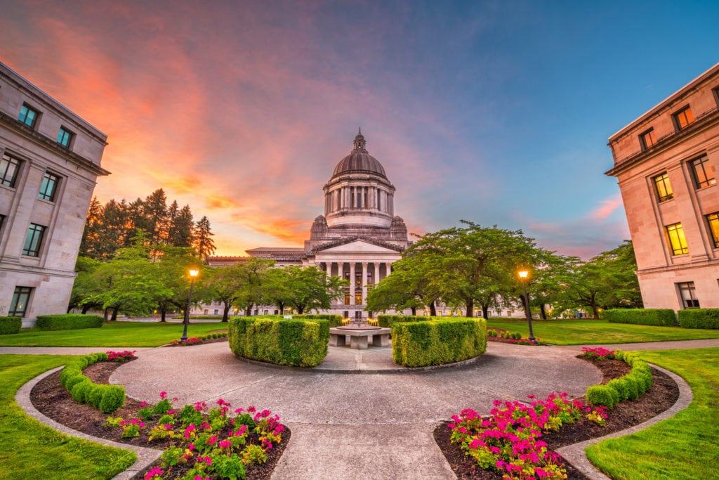 The Roy & Kim Show: The State Capitol in Olympia, Washington is staying virtual during the pandemic.