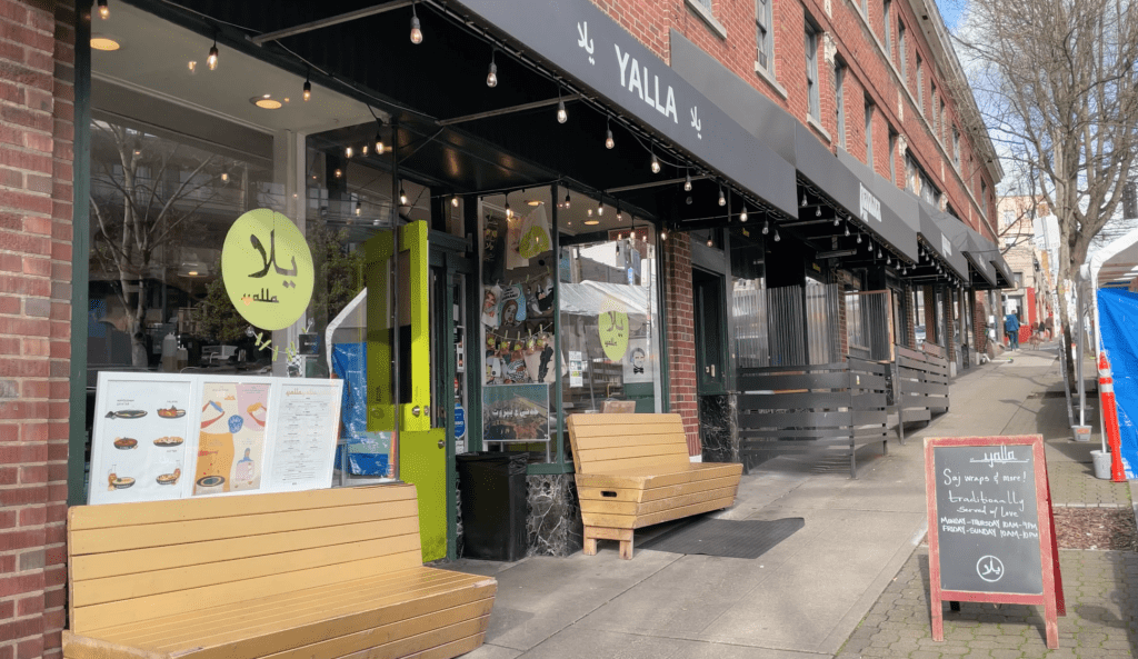 Yalla on Capitol Hill's Olive Way